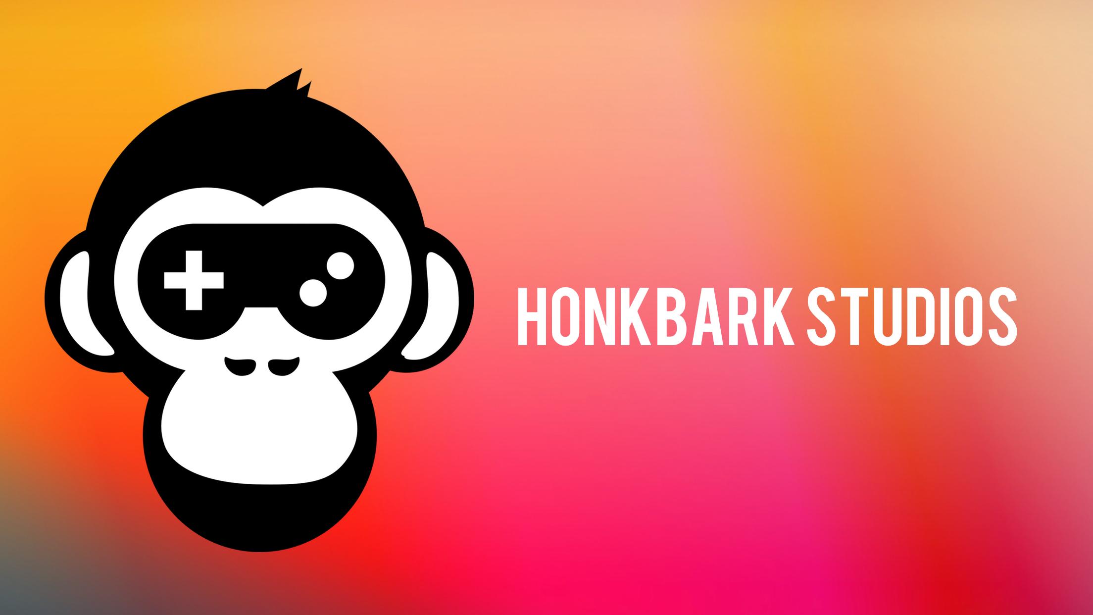 Honkbark Studios logo landscape