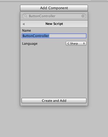 Add ButtonController - DontDestroyOnLoad tutorial