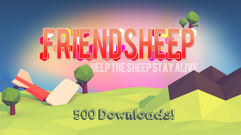 Friendsheep - 500 downloads