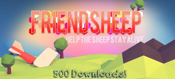 Friendsheep 500 downloads
