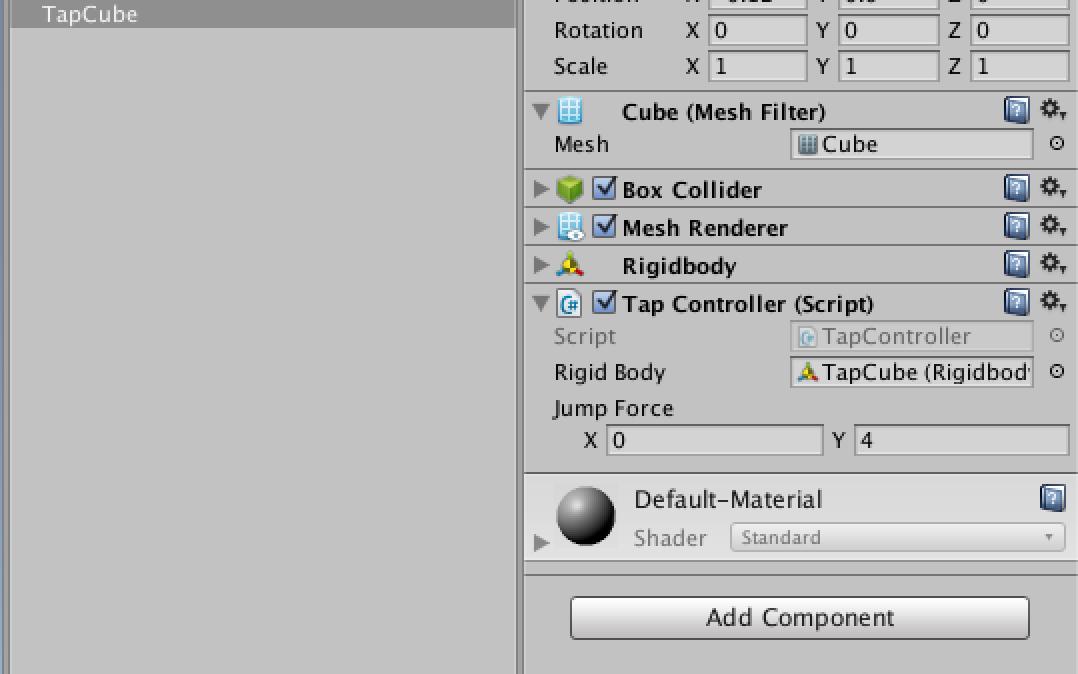 Rigidbody-TapController-for-Unity3d | Honkbark Studios